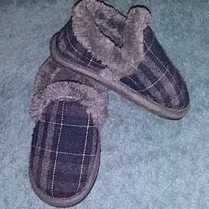 Toddler Plaid Slippers